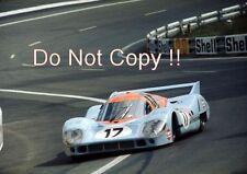 Jo Siffert & Derek Bell Gulf Porsche 917 LH Le Mans 1971 Photograph 1