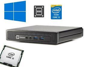 HP EliteDesk 800 G1 Mini Desktop i5-4590T 2.00GHz 8GB 240GB SSD WiFi Win10Pro