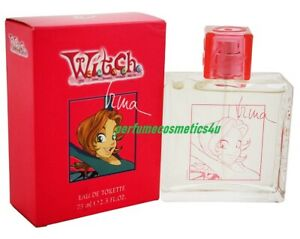 WITCH W.I.T.C.H. IRMA DISNEY FOR GIRLS 2.5 OZ / 75 ML EAU DE TOILETTE SPRAY NIB