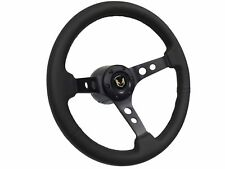 1969 - 1994 Pontiac Firebird S6 Steering Wheel Black Kit   3-Spoke-Holes
