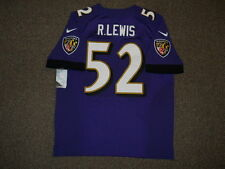 Ray Lewis Baltimore Ravens Purple Authentic Nike Elite Jersey sz 48 Mens w/ tags