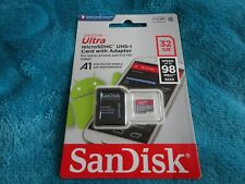 SanDisk Ultra MicroSDHC UHS-1 Card with Adapter 32GB B.N.SEALED