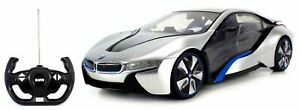 Kids R/C BMW i8 SPORTS CAR 1:16 Scale with Steering Wheel Controller Toy
