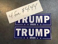 4 Trump MAGA MAKING KEEP AMERICA GREAT AGAIN 2020 Bumper sticker! USA KAG