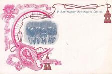 A8006) BOLOGNA 1/4/1908, 1 BATTAGLIONE BERSAGLIERI CICLISTI.