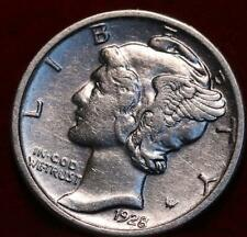 Uncirculated 1928 Philadelphia Mint Silver Mercury Dime