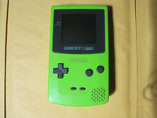 Nintendo Game Boy Color System Kiwi Green Hand Held Console Gameboy %100 Working