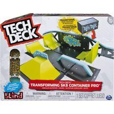 Tech deck ramps -World tour/build park/Transforming sk8 container/starter set