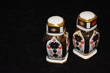 Royal Crown Derby Old Imari Salt & Pepper Shakers Hard to find and on Sale $199.