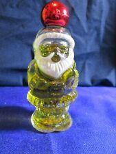 "Vintage Avon Bottle ""Santa"" Topaze Cologne"