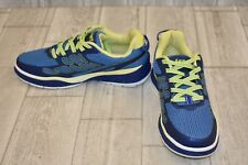 JSport by Jambu Sport Walker Shoes - Women's Size 6M, Deep Blue/Neon Yellow