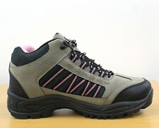DEK Ladies Pink Grey Trek & Trail Ankle BOOTS UK 7 EU 41 Lg04 05