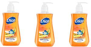 NEW PACK of (3) Dial Moisturizing Liquid Hand Soap (3) MARULA OIL (3) 7.5oz
