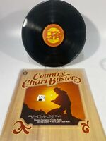 """ERA Records WU 3470 Various – Country Chart Busters 12"""" 33 RPM 1979"""