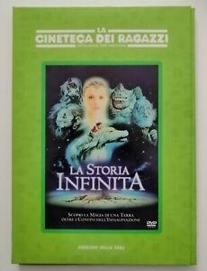 DVD La storia infinita La cineteca dei ragazzi n. 1 Corriere della Sera + 2 inse