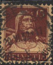 Schweiz 205x gestempelt 1924 Wilhelm Tell