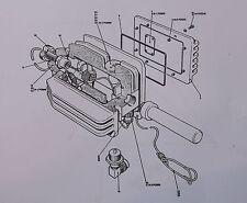 Wideband antenna elevated kit.Code no.61985.Illustrated parts catalogue.