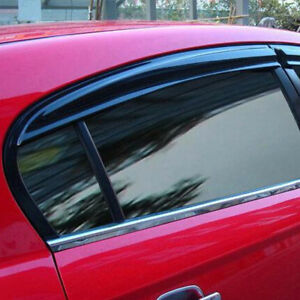For Mazda 3 2014-2018 ABS Sun rain Visor Window Shield Deflector Guard Cover