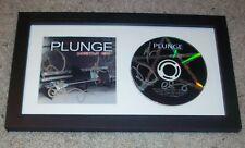 PLUNGE CINDER ROAD SIGNED AUTOGRAPH HOMETOWN HERO FRAMED CD & BOOKLET w/PROOF