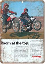 "Honda XR-75 Mr-50 Dirt Bike Ad 10"" x 7"" Reproduction Metal Sign A475"