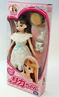 TAKARA [LICCA DOLL] LD-07 going out with Rabbit 22cm JAPAN doll dress pet etc