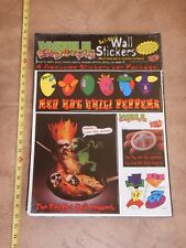 Original 1997 Red Hot Chili Peppers, Wall Euphoria Self-Stick Wall Stickers