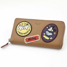 Japan 5482 New with Tags Coach X Disney Mickey Ltd Edition Patches Wallet