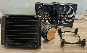 Corsair H55 120mm AIO All-In-One Hydro Water Intel AMD CPU Cooler Compact Quiet