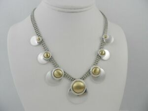 Lucky Brand Two-Tone Satin Collar Necklace