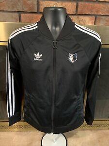 Vintage Adidas Minnesota NBA Timberwolves Warm Up Track Jacket Womens Sz Medium