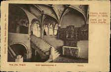 ZÜRICH ~1900/10 alte Postkarte Schweiz Landesmuseum Partie a.d. unteren Kapelle