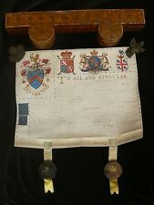1795 Grant of Arms to James Shotter of Farnham Surrey