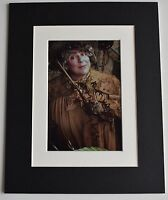 Miriam Margolyes Signed Autograph 10x8 photo display Harry Potter Film AFTAL COA