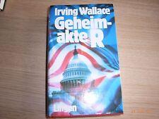 Irving Wallace: Geheimakte R Politikthriller gebunden