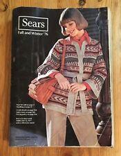 Sears Fall and Winter 1976 Catalog