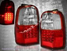 1996-2000 TOYOTA 4RUNNER SR5 RED LED TAIL LIGHTS NEW