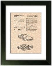 United States Patent Office Print Ferrari Art