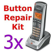 3X- Uniden Cordless Keypad Button Repair DECT2085-x DECT2085-4WX 2085-3 2060-3