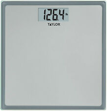 Bathroom Weight Scale Weighing Body Scales Tempered Blass Platform 400lb LCD New