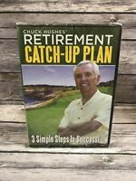 Chuck Hughes' Retirement Catch-Up Plan DVD 3 Simple Steps to Success! NEW Sealed