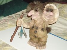 Ny Form Troll, Two Headed, #101, 10 3/8 Inches tall, Norway, Very Nice