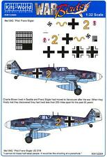 Kits World Decals 1/32 MESSERSCHMITT Me-109G FRANZ STIGLER