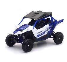 NEW RAY 1:18 YAMAHA yxz 1000r Diecast Modelo Juguete todoterreno Buggy ATV Azul
