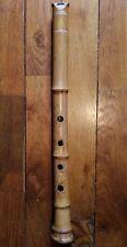 shakuhachi flûte 1.8 in D ji-nashi