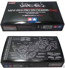 TAMIYA MINI 4WD LIMITED EDITION PRO MS CHASSIS EVO I 95263 EVO 1 JAPAN MADE RARE