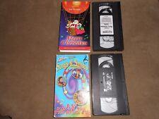 Joe Scruggs VHS set Merry Christmas Joe TV Joe's First Video Songs and Smiles
