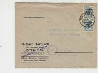 Germany 1948 Soviet Zone to Gera Thuringia Stamps Cover  ref 23143