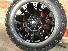 "FUEL VAPOUR 18"" ALLOY WHEELS  BF GOODRICH DERANGED FORD RANGER L200 HILUX DMAX"