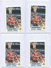 Lot (4) 1990 Panini Sticker Michael Jordan #91 PSA? Tough and Rare! 🔥🏆👌🏻