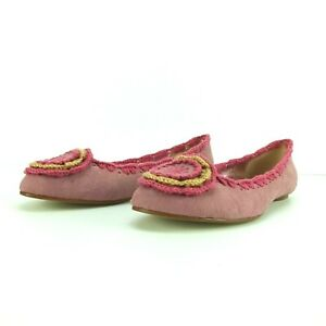 I.Accessories+Pourtous Pink 5 mm heal Moccasin Style Gypsy 36 37 38